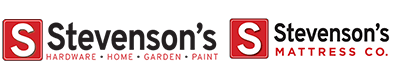 Stevenson's Appliances, Furniture, and Hardware Logo
